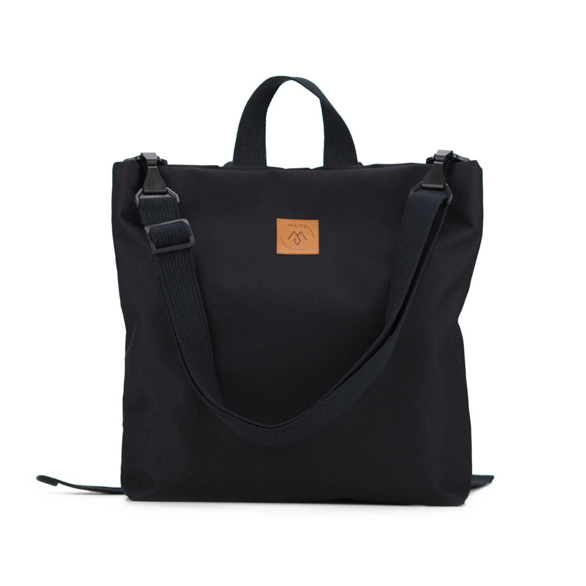 81b05519622e0 Plecak torba MILI URBAN JUNGLE L  czarny - Gust Gust