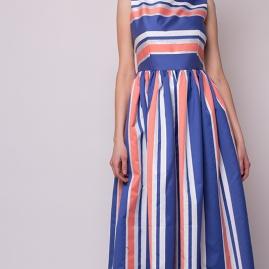 23ee318bf9 Sukienka SAFIRE kolorowe pasy