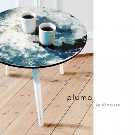 Stolik kawowy PLUMO coffee table by Wojtyczka