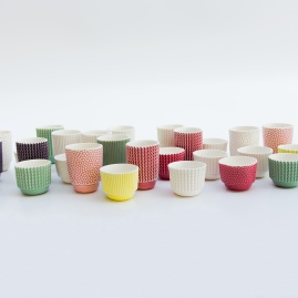 Kubek porcelanowy JELLY COLLECTION - BUBBLE BIG | różne kolory